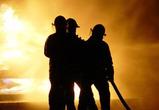Под Воронежем сгорел многоквартирный дом
