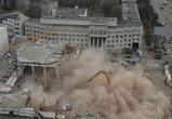 Во время демонтажа «России» погибли двое рабочих