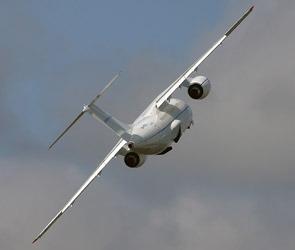 Второй воронежский Ан-148 улетел в Санкт-Петербург