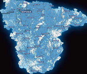 В Интернете появится литературная карта Воронежской области