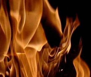В Воронеже загорелся авторемонтный цех