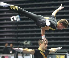 Воронежские акробаты стали призерами международного турнира