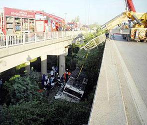 Автобус с российскими туристами разбился в Турции: 16 погибших