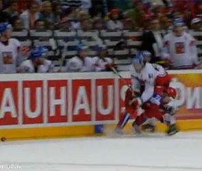 Судья финальной встречи ЧМ по хоккею признал, что удаление российского игрока было ошибочным