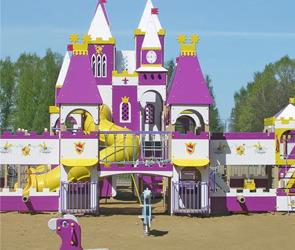 Детский парк ко Дню защиты детей
