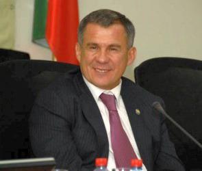 В Воронеж прибыл президент Татарстана