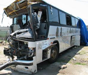 Крушение автобуса на Транскавказской магистрали