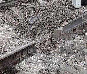 Теракт на железной дороге в Дагестане