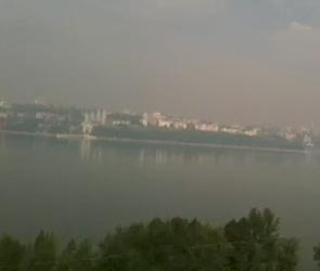 Дым от пожаров окутал весь Воронеж (ВИДЕО)