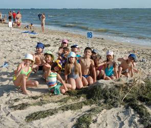Воронежские дети, пострадавшие от пожаров, отправились на отдых в Ростовскую область