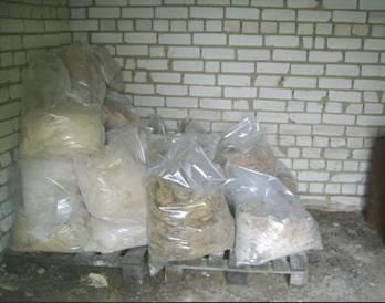 В Воронеже нашли тонну  бесхозных пестицидов, в том числе и запрещенных к применению