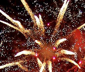 В Сыктывкаре праздничный салют пустили прямо в толпу