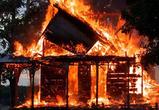 В Воронежской области пожар уничтожил ещё одну деревню