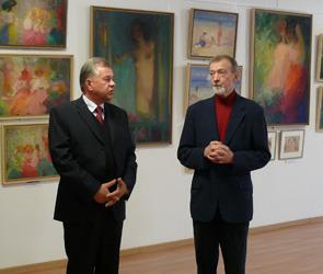 В Воронеже открыли  выставку «Русского  Ренуара»