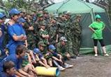 В один из детских лагерей Воронежской области приехал ОМОН