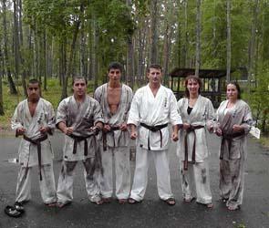 Лагерь ашихара-каратэ прошел под Воронежем