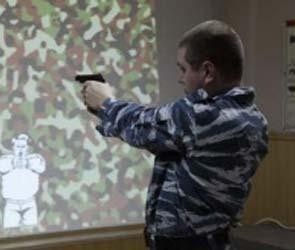 Руководители воронежской полиции проверили свою меткость