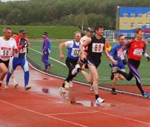 На чемпионате страны среди ветеранов воронежские легкоатлеты взяли 18 медалей