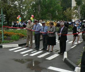 В Ельце открылся автогородок