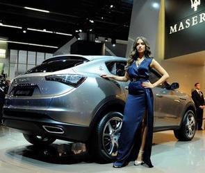 Новинка: внедорожник Maserati Kubang