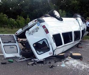 В Липецке столкнулись три автомобиля