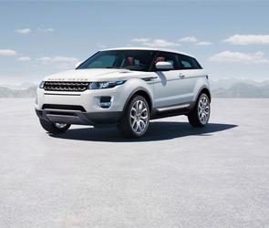 Range Rover Evoque едет в Дакар