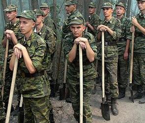 Число призывников в армию планируют сократить до 10%