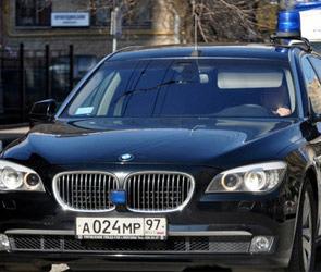 BMW помощника президента протаранила «Ладу»