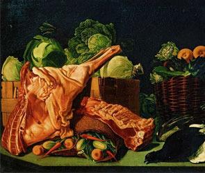 Мясо или овощи в диете воронежца