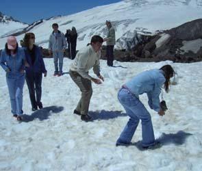 Мороз остановил «снежное сражение» в Воронеже