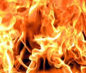 В Воронеже загорелось кафе