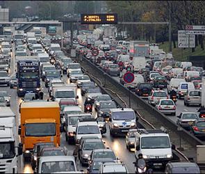 2 февраля: пробки на дорогах Воронежа
