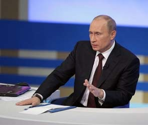 Владимир Путин не увидел политзаключенных в России
