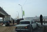 В Воронеже на северном мосту была серьезная авария