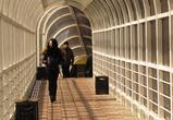 На Московском проспекте началось строительство нового надземного перехода