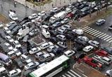 17 февраля, пробки и аварии в Воронеже