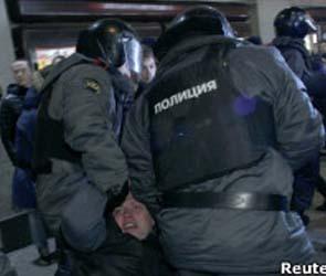 В ходе акции оппозиции в Москве была избита журналистка