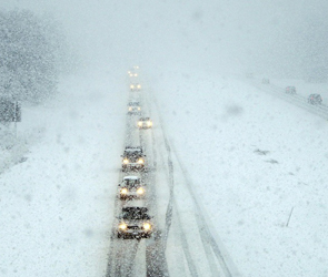 В Воронеже, как и в Москве, будет  снегопад