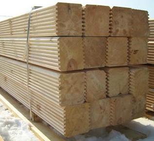 Виды древесных материалов в Воронеже
