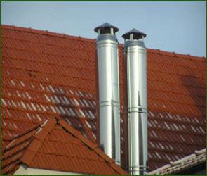 Модульные нержавеющие дымоходы из стали в Воронеже