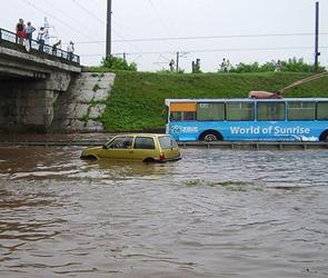 В Воронеже дорога вдоль реки Песчанки будет затоплена