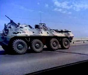 Олег Шеин сообщил о вводе в Астрахань бронетехники