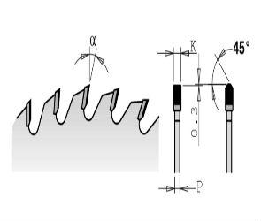 Электроинструмент и составляющие - пильные зубы