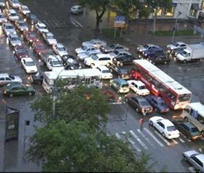 Пробки и аварии в Воронеже в среду 25 апреля