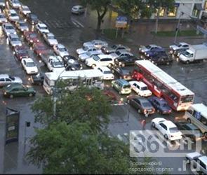 Пробки и аварии в Воронеже в четверг 26 апреля