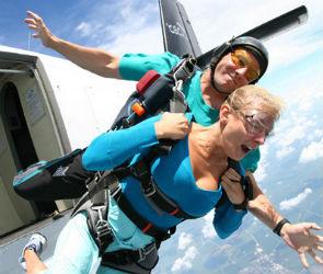 Активный отдых: первый прыжок с парашютом