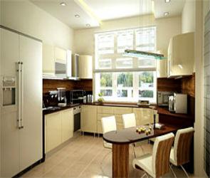 Дизайн интерьера квартир - кухни