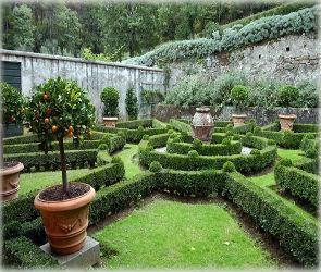 Ландшафтный дизайн: Итальянский стиль