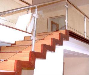 Лестницы на второй этаж в частных домах