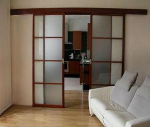 Раздвижные двери - установка